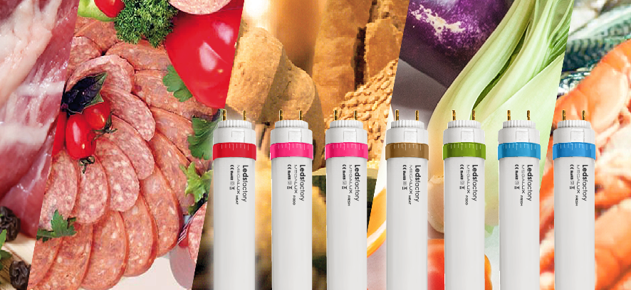 WHY CHOOSING MEGALUX LEDS FACTORY'S SPECIAL LIGHTING TUBES SPECIALLY MADE FOR THE FOOD INDUSTRY?