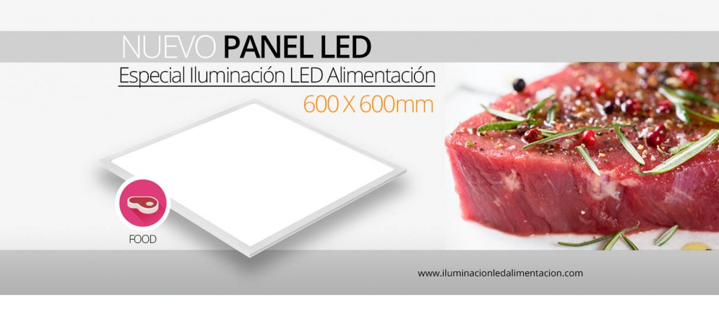 Nuevo Panel FOOD LED